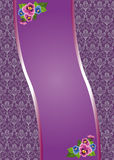 Lilac background. Beautiful purple background for photos Stock Photography