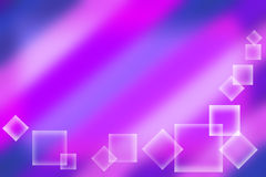 Lilac background with squares. Stock Photos