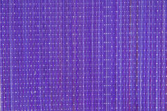 Lilac bamboeservet als achtergrond Stock Afbeeldingen