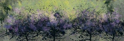 Lilac bloei Stock Afbeelding