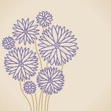 Lilac bloem Stock Illustratie