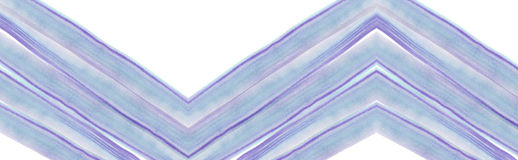 Lilac-blue watercolor paint brush stroke pattern on white background Royalty Free Stock Photos