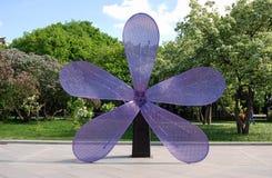 Lilac bomen Genomen in Lilac tuin in Moskou Royalty-vrije Stock Fotografie