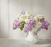 Lilac Bouquet Stock Photos