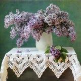 Lilac bouquet Stock Photos