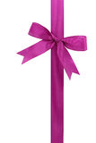 Lilac bow Royalty Free Stock Images