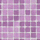 Lilac brick wall Royalty Free Stock Photos