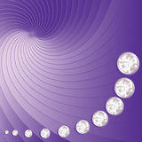 Lilac bright background Stock Photography