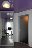 Lilac ceiling Royalty Free Stock Photos