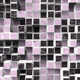 Lilac checkered background Royalty Free Stock Photography