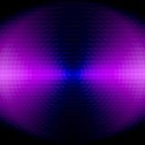 Lilac cirkel Royalty-vrije Stock Afbeeldingen