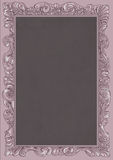 Lilac conice for painting or postcard Vintage frame border retro. Conice for painting or postcard linework Black Conice for painting or postcard Vintage frame Royalty Free Stock Image
