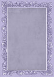 Lilac conice for painting or postcard Vintage frame border retro. Conice for painting or postcard linework Black Conice for painting or postcard Vintage frame Royalty Free Stock Photos