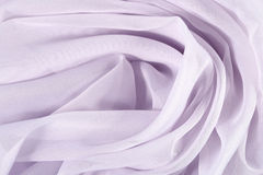 Lilac crumpled fabric background Royalty Free Stock Photography