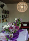 Lilac decoratie Royalty-vrije Stock Fotografie