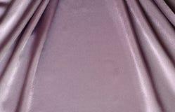 Lilac draped silk Royalty Free Stock Image