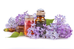 Lilac essential oil Royalty Free Stock Photo