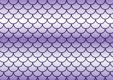 Lilac fish scales. Lilac fish scales with waves Stock Photos