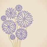 Lilac flower. Stylized lilac flower background with space for you text Royalty Free Stock Photography