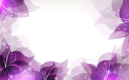 Lilac Flowers Background Royalty Free Stock Photos