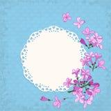 Lilac frame Stock Photos