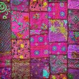 Lilac handmade tapestry. India, Rajasthan Stock Photo