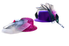 Lilac hat Royalty Free Stock Photos