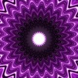 Lilac kaleidoscopic design Royalty Free Stock Image