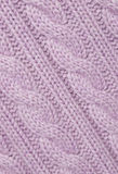 Lilac knitted fabric. Royalty Free Stock Photos