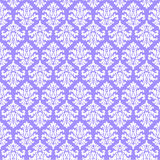 Lilac lavender damask pattern paper background Royalty Free Stock Photo