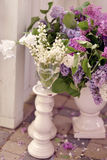 Lilac and lily of the valley Royalty Free Stock Photography