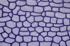 Lilac mosaic stone Royalty Free Stock Photos