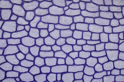 Lilac mosaic stone Stock Photo