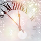 Lilac 2018 New Year background. Royalty Free Stock Photos