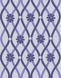 Lilac ornament Royalty-vrije Stock Foto's