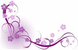 Lilac pattern Royalty Free Stock Photos