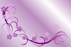 Lilac pattern Stock Image