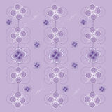 Lilac pattern. Abstract, geometric patterns on a light purple background Stock Photography