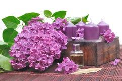 Lilac perfume Royalty Free Stock Image