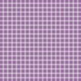 Lilac picnic checkered tablecloth. Vector illustration of lilac picnic checkered tablecloth Stock Photography