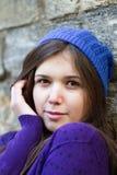 Lilac portret Royalty-vrije Stock Fotografie
