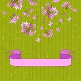 Lilac&ribbon Foto de Stock Royalty Free