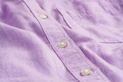 Lilac shirt Stock Photography