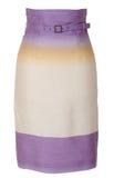 Lilac skirt Stock Image