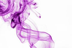 Lilac smoke 2 Stock Image