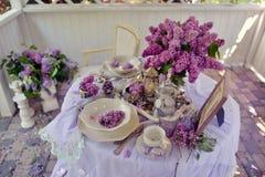Lilac spring Stock Photo