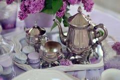 Lilac Still Life Royalty Free Stock Photos