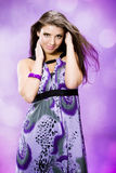 Lilac symfonie Royalty-vrije Stock Afbeelding