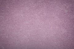 Lilac textuur als achtergrond van ruw asfalt, hoogste mening Stock Fotografie