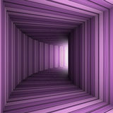 Lilac tunnel Stock Image